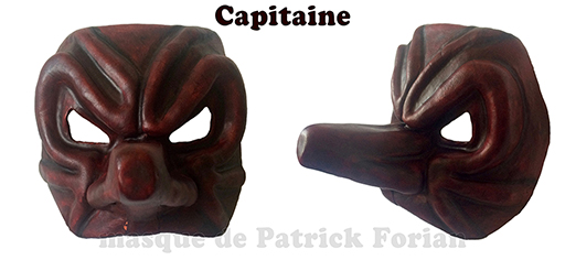 Mask of the Captain