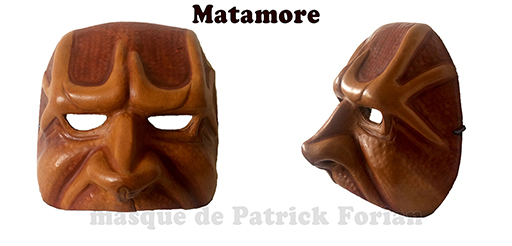 mask of Matamore, alike Captain's kind