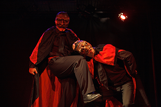 In Commedia Veritas, spectacle de commedia dell'arte